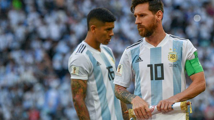 Lionel Messi devrait encore être bien entouré samedi face à la France. (ALEXANDER VILF / SPUTNIK)