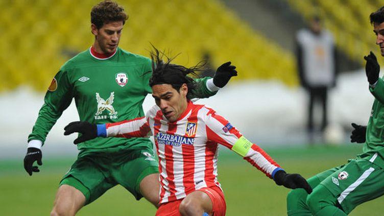 Le Rubin Kazan a résisté à Falcao et l'Atletico