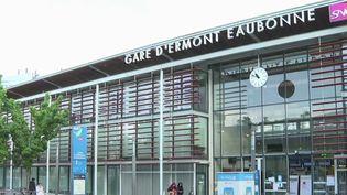 La gare d'Ermont-Eaubonne, dans le Val-d'Oise. (CAPTURE ECRAN FRANCE 3)