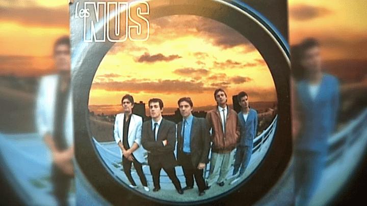 Pochette de l'unique album des Nus  (France 3 / Culturebox)