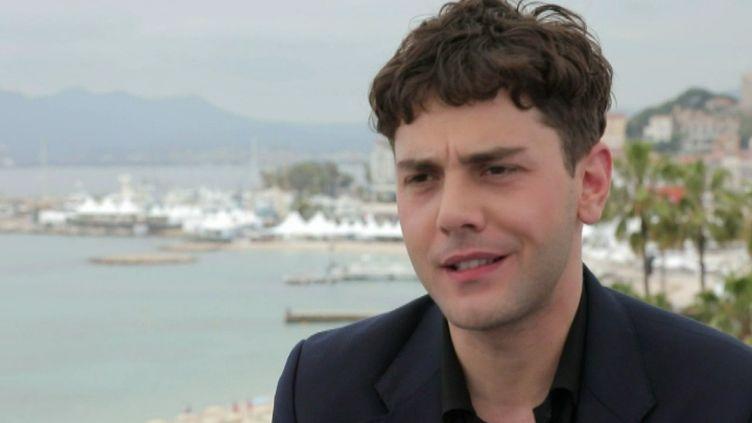 """Xaveir Dolan présente """"Matthias et Maxime"""" au Festival de Cannes. (G. Beaufils / France Télévisions)"""