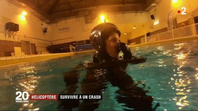Hélicoptère : comment l'armée apprend à survivre à un crash
