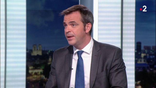 Olivier Véran est l'invité du journal de 20 heures de France 2