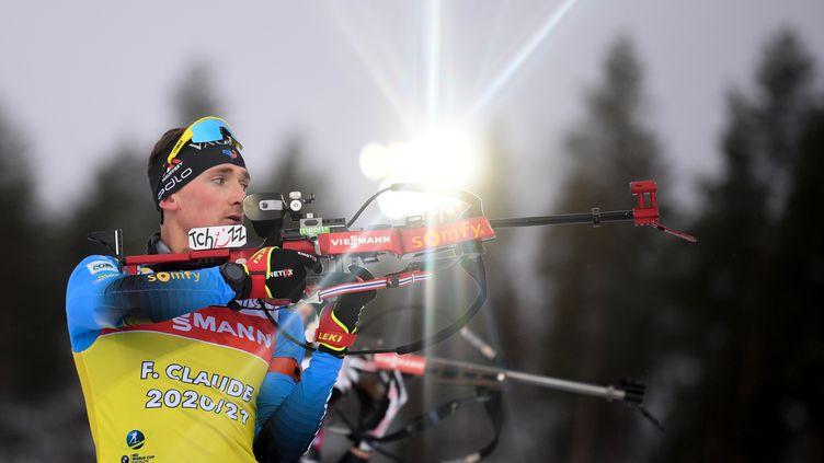 Meilleur résultat en carrière pour Fabien Claude lors de la poursuite à Kontiolahti (ALEXEY FILIPPOV / SPUTNIK)