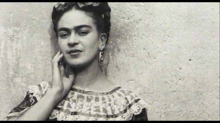 """Image extraite du film sur Frida Kahlo """"Frida. Viva la vida"""", présenté à la Semaine du cinéma hispanique de Clermont-Ferrand (France 3 Aura)"""