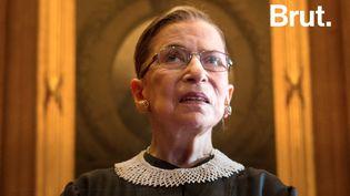 Ruth Bader Ginsburg a notamment lutté toute se vie contre les inégalités des sexes aux États-Unis. (BRUT)
