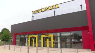 Le cinéma Megarama à Denain dans le Nord (2020). (France 3 Nord-Pas-de-Calais)
