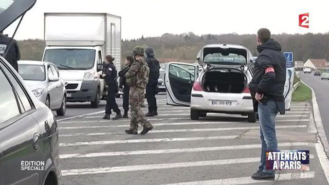 Attentats de Paris : les contrôles routiers renforcés en région parisienne