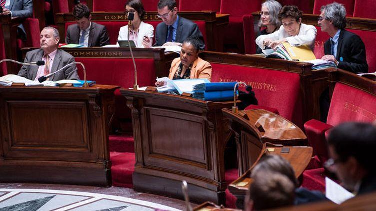 (Les peines plancher enterrées à l'Assemblée nationale © Maxppp)
