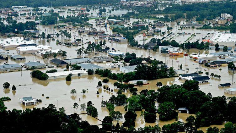 Deschamps Springs, à 10 kilomètres de Baton Rouge, le 13 août 2016. (PATRICK DENNIS / SIPA)
