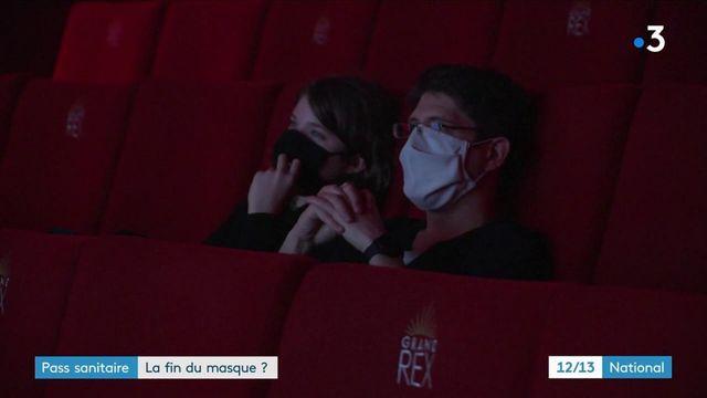 Pass sanitaire : la fin du masque dans les lieux de culture et de loisirs