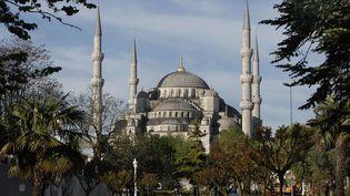 La mosquée Bleue, à Istanbul (Turquie). (MANUEL COHEN / AFP)