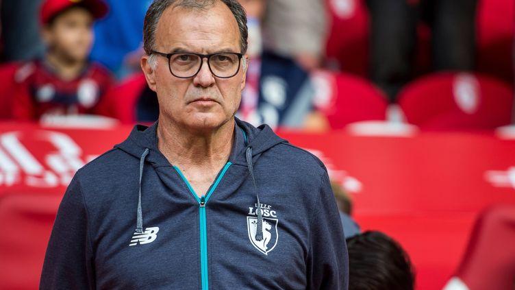 L'entraîneur argentin du LOSC, Marcelo Bielsa.
