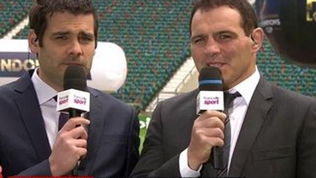 """Rugby : """"C'est le meilleur du rugby français qui vient s'exporter à Londres"""""""