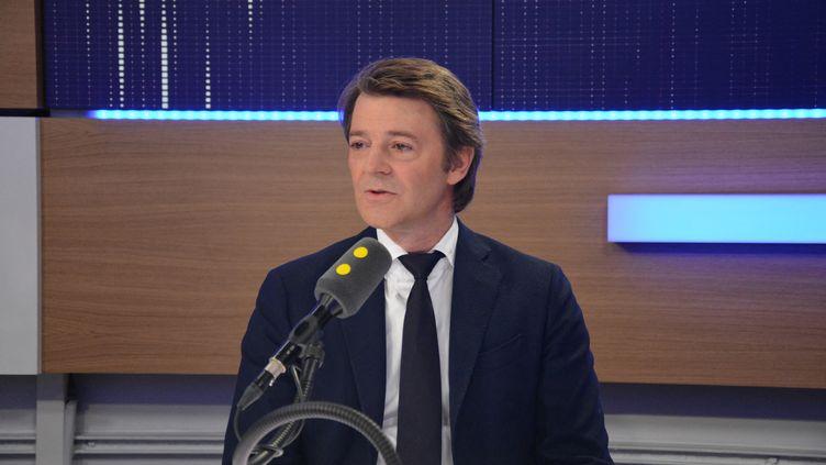 François Baroin invité de franceinfo, le 4 novembre 2016. (JEAN-CHRISTOPHE BOURDILLAT / FRANCE-INFO)