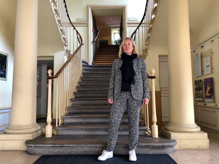 Claudine Ganter, adjointe au maire de Colmar, en charge du tourisme. (MATTHIEU MONDOLONI / FRANCEINFO)