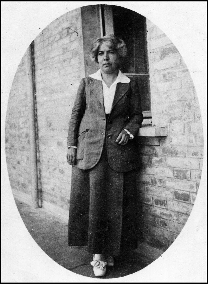 La romancière Grazia Deledda, prix Nobel de Littérature 1926 (Leemage via AFP)