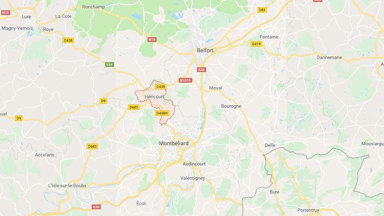 Héricourt (Haute-Saône). (GOOGLE MAPS)