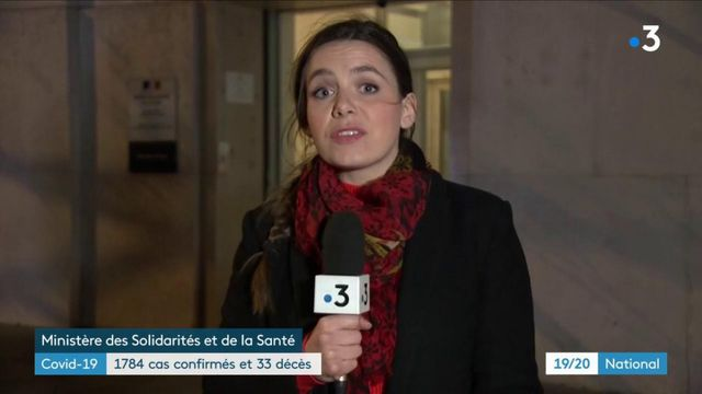 Covid-19 : le bilan grimpe à 33 morts et 1 784 cas de contamination en France