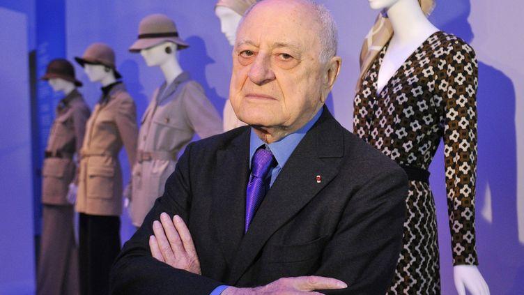 Pierre Bergé, le 8 mars 2010, au Petit Palais à Paris. (HORACIO VILLALOBOS / EPA)