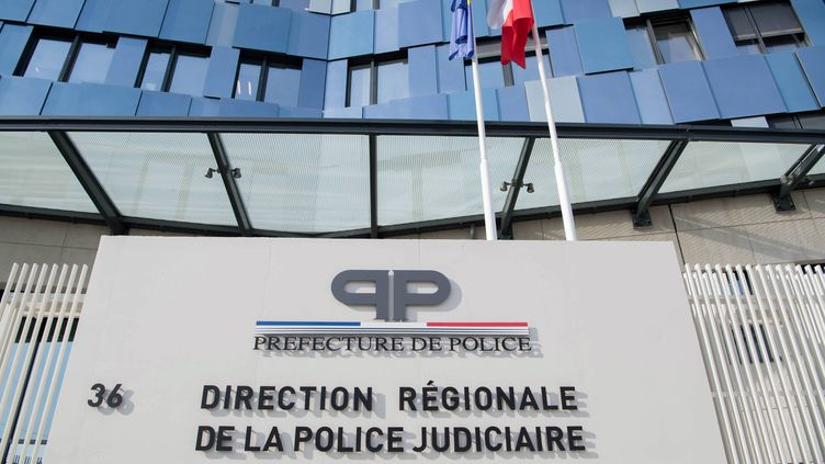 Le siège de la PJ à Paris (photo d'illustration). (DANIEL FOURAY / MAXPPP)