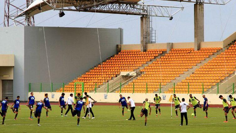 Le stade de Malabo (Guinée équatoriale) (HOSNI MANOUBI / AFP)