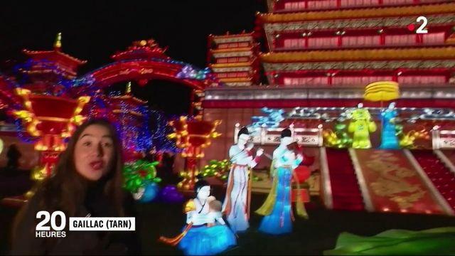 Tarn : un réveillon féerique au festival des lanternes