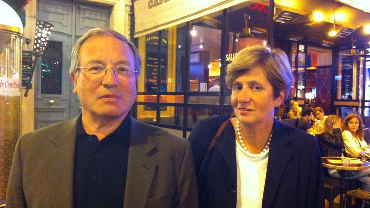 Jean et Ghislaine Marchand, le 17 septembre 2012, à Paris. (SALOME LEGRAND / FTVI)