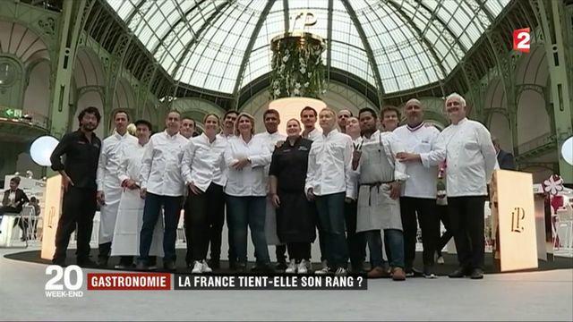 Gastronomie : la France tient-elle son rang ?