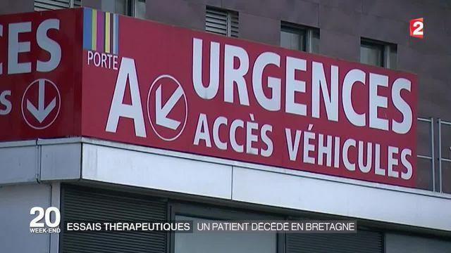 Essai thérapeutique à Rennes : un patient est décédé