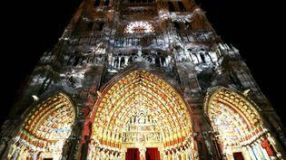 La Cathedrale Notre-Dame d'Amiens.   (©PHOTOPQR/LA VOIX DU NORD/Edouard BRIDE)