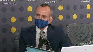 Christophe Sommet, directeur d'Ushuaïa TV. (CAPTURE ECRAN / FRANCEINFO)