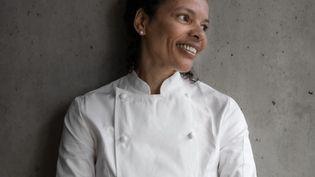 Alessandra Montagne, cheffe du restaurant Nosso à Paris. (Anne-Claire Heraud)