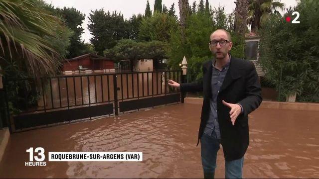 Intempéries dans le Var : après Sainte-Maxime, Roquebrune-sur-Argens fait face à la montée des eaux