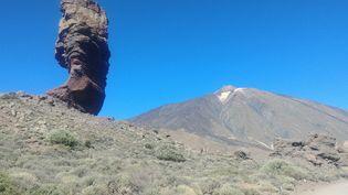 Le Teide,lieu mythique en altitude, au milieu des champs de lave séchée, point culminant de l'Espagnedu haut de ses 3718 mètres (PHOTO EMMANUEL LANGLOIS)