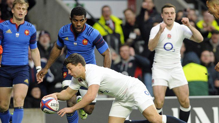 (La France a marqué cinq essais, mais s'incline face à l'Angleterre. © Maxppp)
