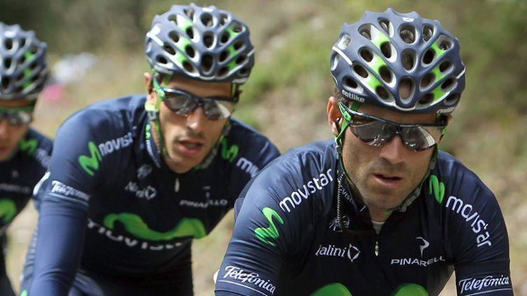 Les Movistar d'Alejandro Valverde