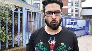 Jawad Bendaoud devant le tribunal de Bobigny le 25 avril 2018. (ALAIN JOCARD / AFP)
