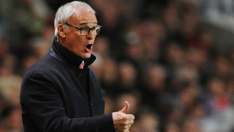 Claudio Ranieri en lice pour le titre en Premier League (JEAN-SEBASTIEN EVRARD / AFP)