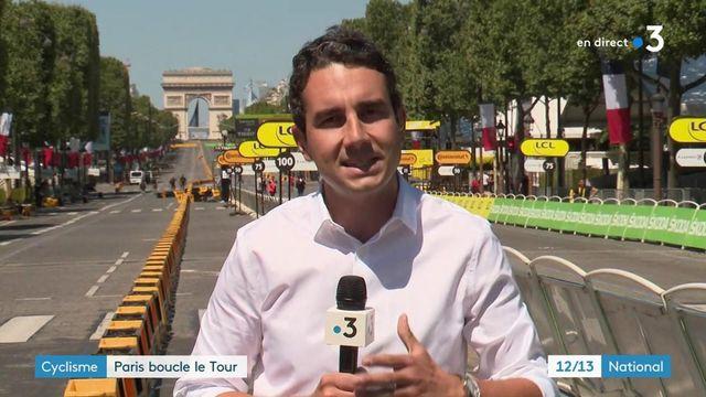 Tour de France 2021 : journée de spectacle sur les Champs-Elysées