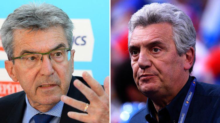Entre Claude Onesta, le patron de l'ANS, et André Giraud, le président de la Fédération d'athlétisme, le torchon brûle. (AFP)