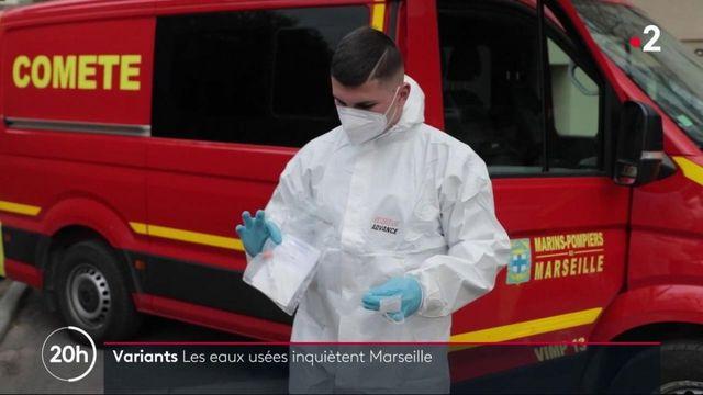 Marseille : les pompiers traquent le Covid-19 dans les eaux usées