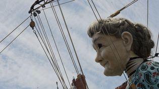 Une marionnette géante de Royal de Luxe, juin 2014 à Nantes  (citizenside.com / Kevin Niglaut / AFP)