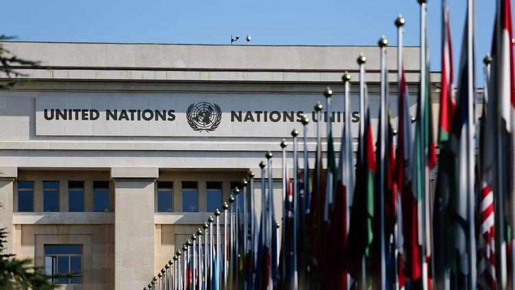 Le siège des Nations unies, à Genève, en septembre 2014. (  MAXPPP)