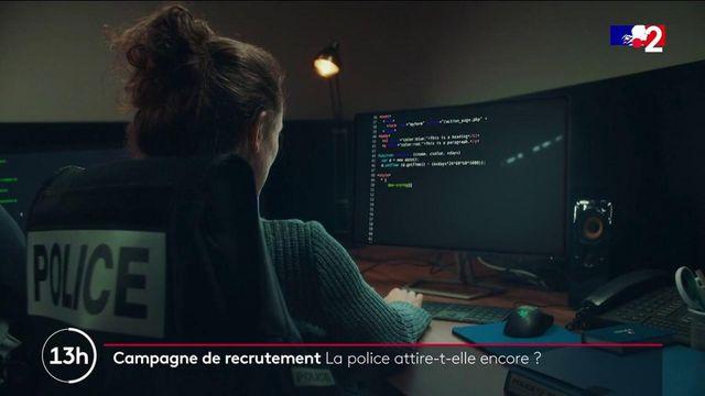 Campagne de recrutement de la police : l'uniforme attire-t-il les jeunes ?