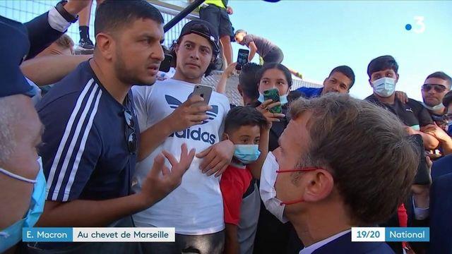 Marseille : la visite d'Emmanuel Macron a débuté