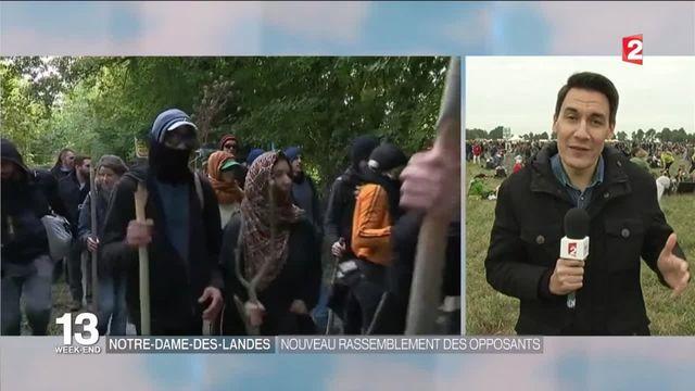 Notre-Dame-Des-Landes : les opposants au projet d'aéroport manifestent