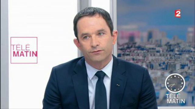 Benoît Hamon à propos de l'éventuel ralliement de Manuel Valls à Emmanuel Macron