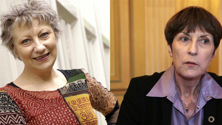 Anne-Marie Garat et Josyane Savigneau  (BALTEL/SIPA - DEMARTHON/AFP)