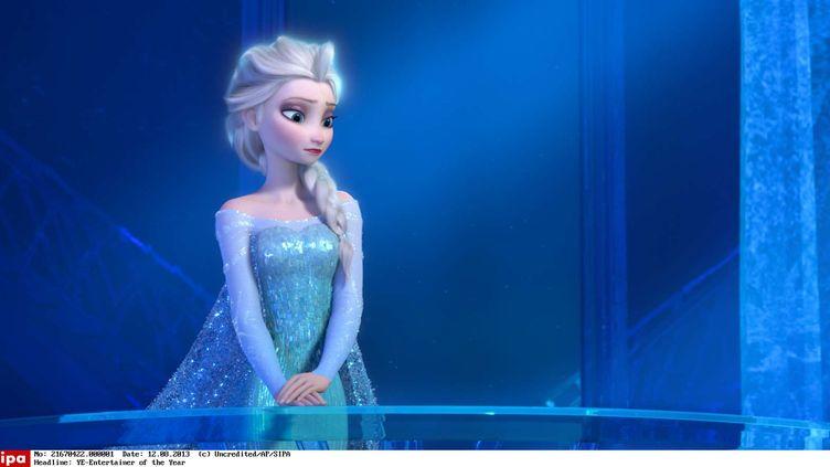 """Une scène du film """"La Reine des neiges"""", sorti en 2013. (AP / SIPA)"""